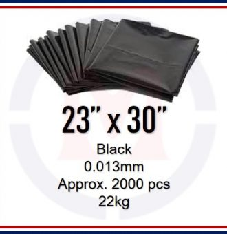 23X30 BLACK