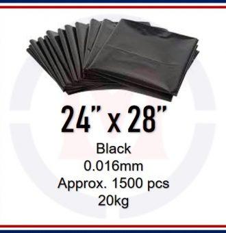 24X28 BLACK